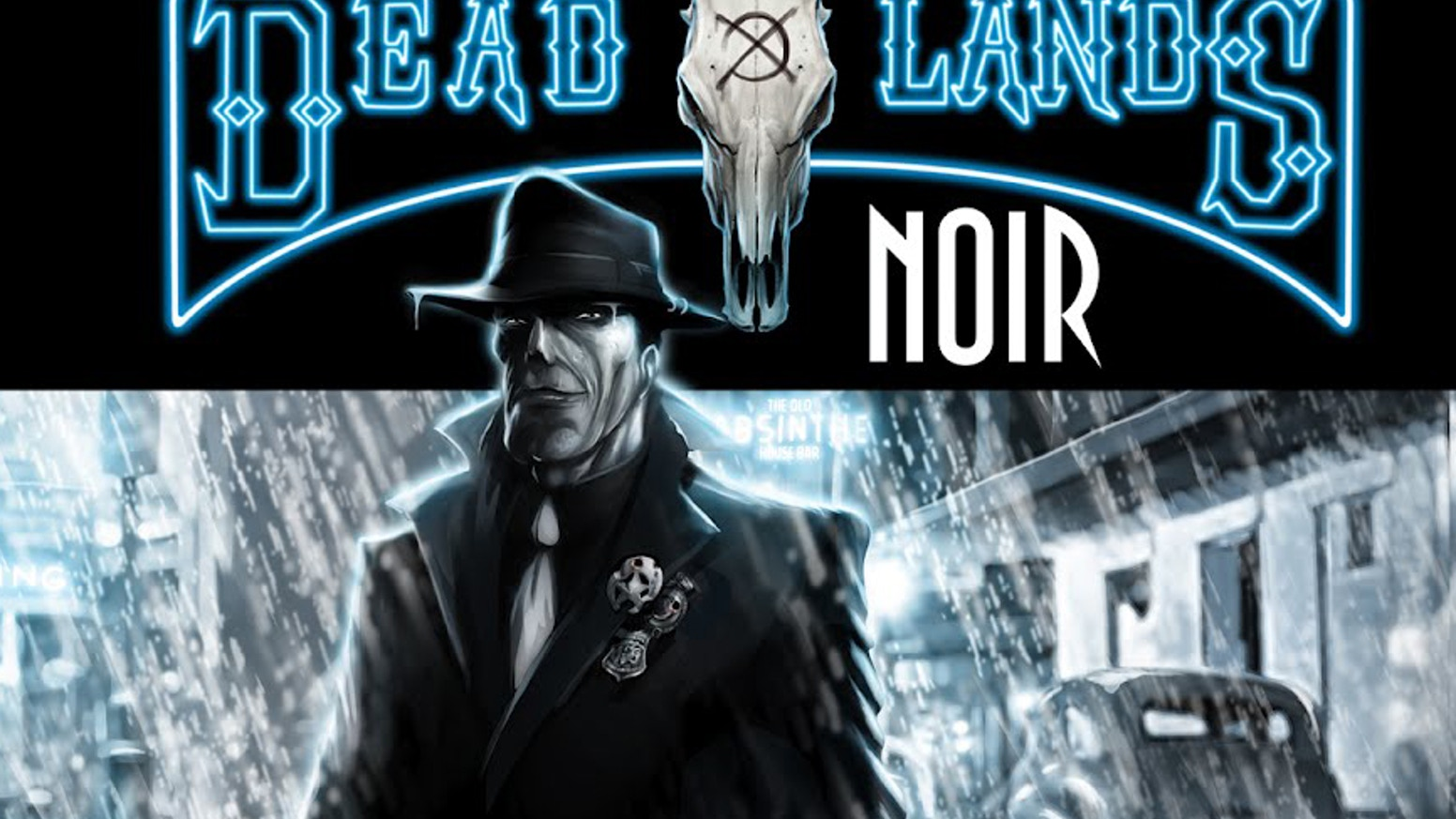 Deadlands noir by shane hensley kickstarter for Bureau 13 savage worlds