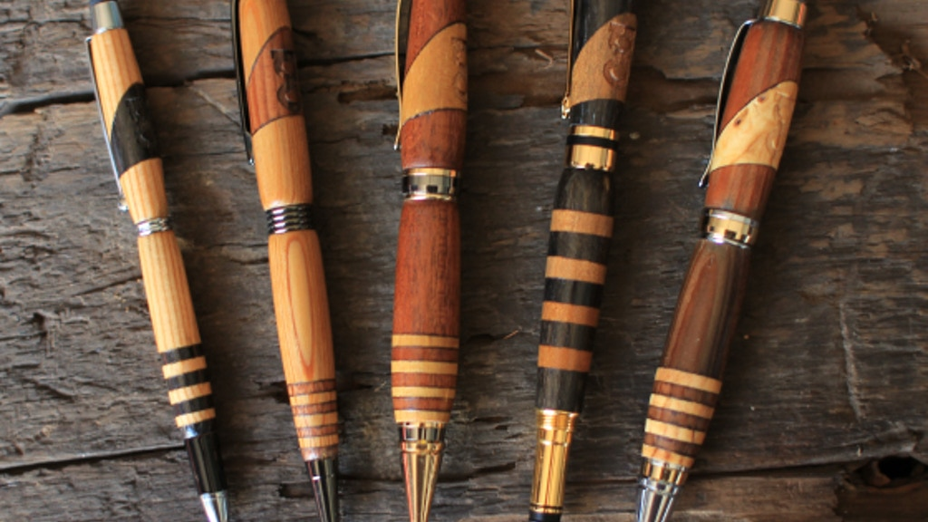 Handcrafted Reclaimed Wood Pens project video thumbnail