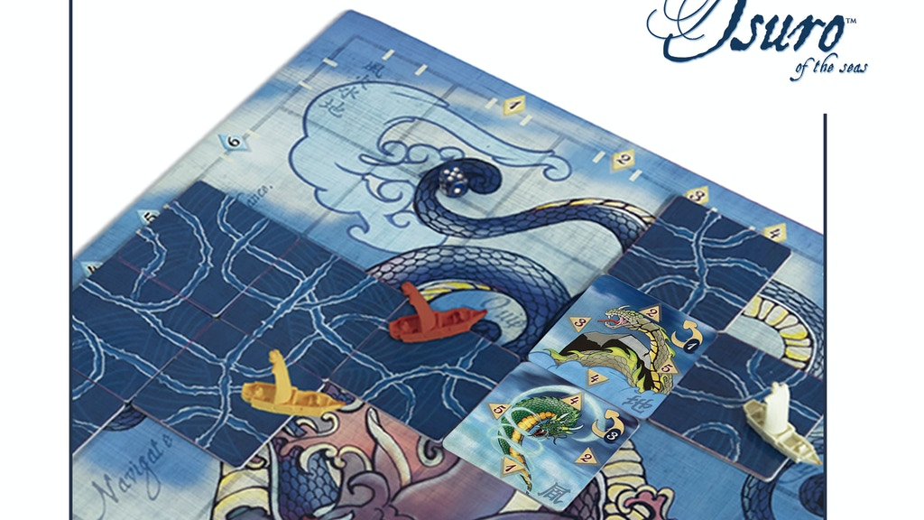 Tsuro of the Seas... A game of treacherous waters. project video thumbnail