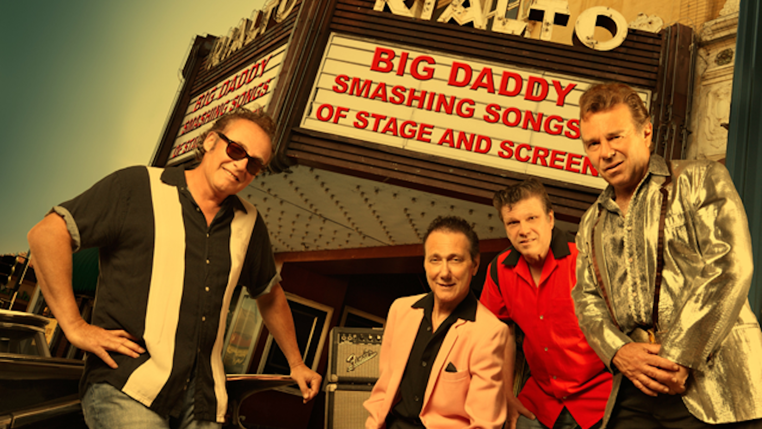 A new album by Big Daddy: Songs from Broadway Musicals and Feature Films performed in the classic styles of the 1950's.