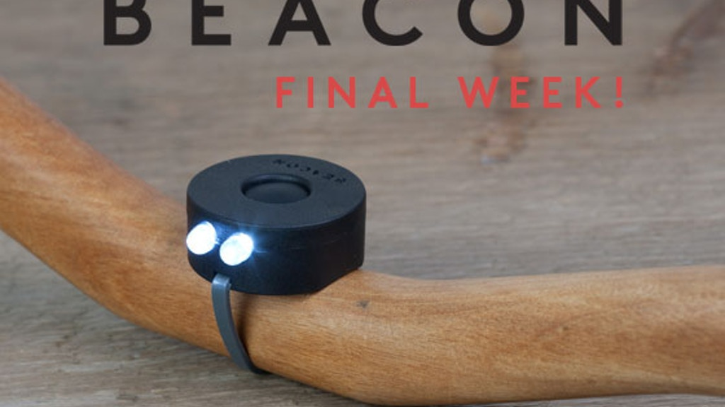Beacon Bike Lights · A light that lives on your bicycle. project video thumbnail