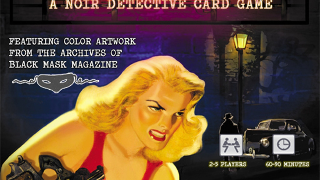 ACE DETECTIVE:Storytelling Game featuring Black Mask Artwork project video thumbnail