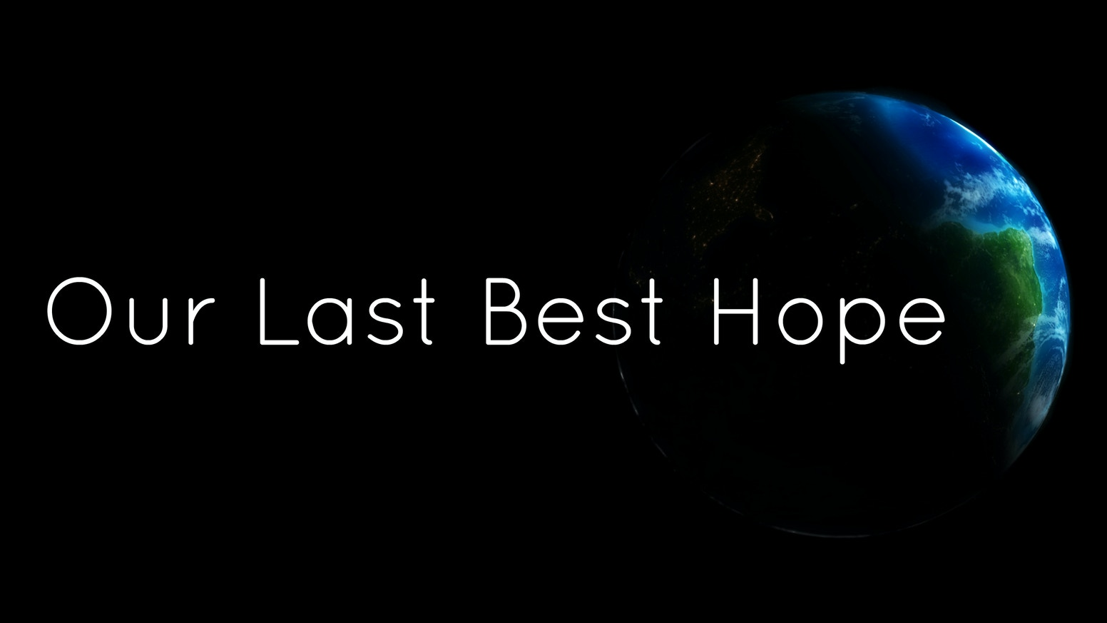 A Crisis threatens to wipe out Humanity. You are our last best hope to save the Earth. Are you willing to pay the ultimate price?