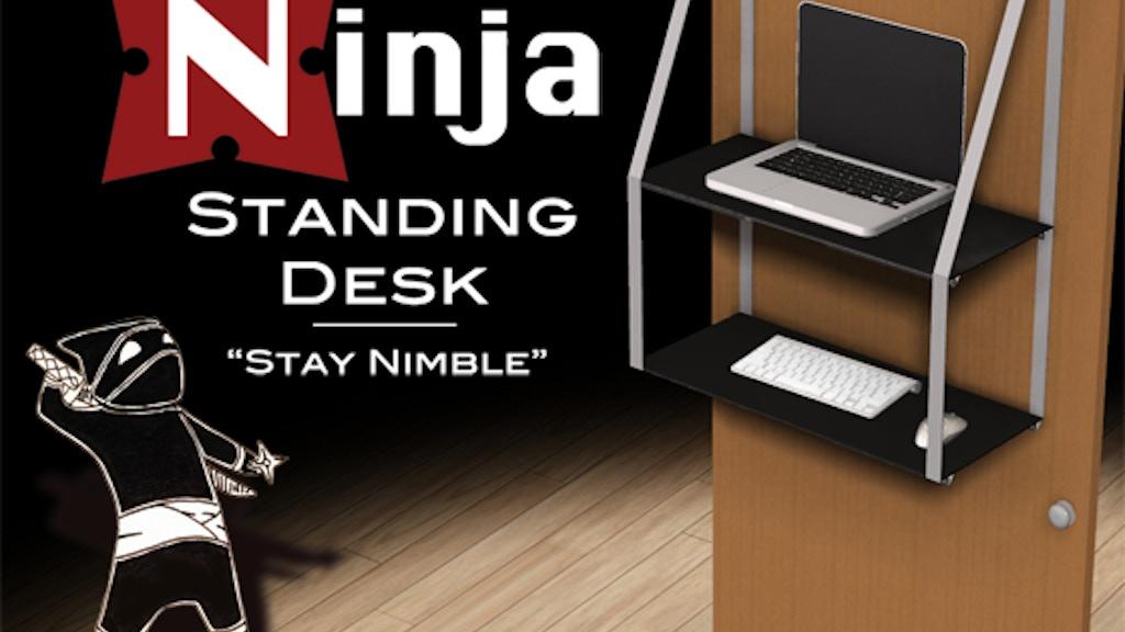 Ninja Standing Desk project video thumbnail