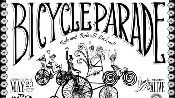 The Great Atlanta Bicycle Parade project video thumbnail
