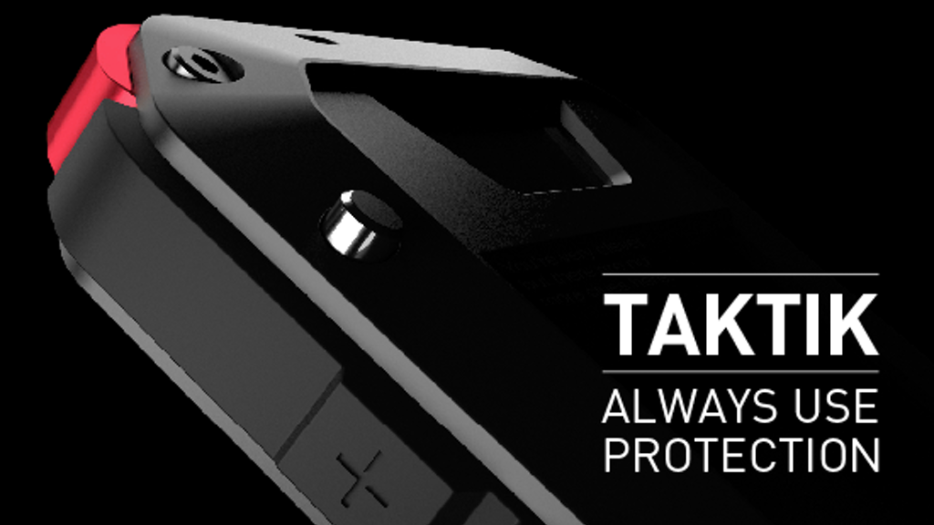 TAKTIK: Premium Protection System for the iPhone project video thumbnail