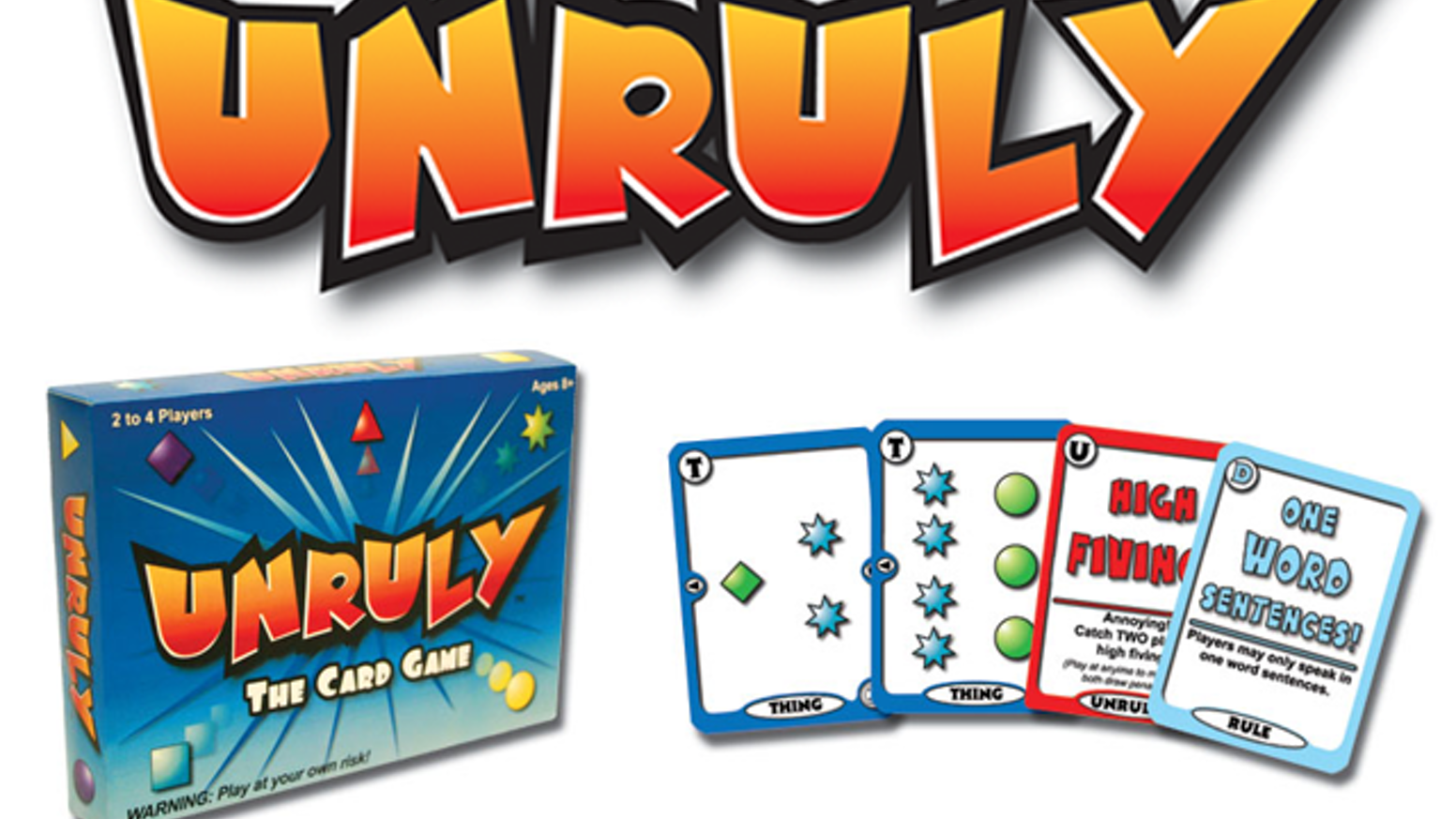 Bring your family and friends closer together with this hilariously fun, crazy intense, rule changing card game!