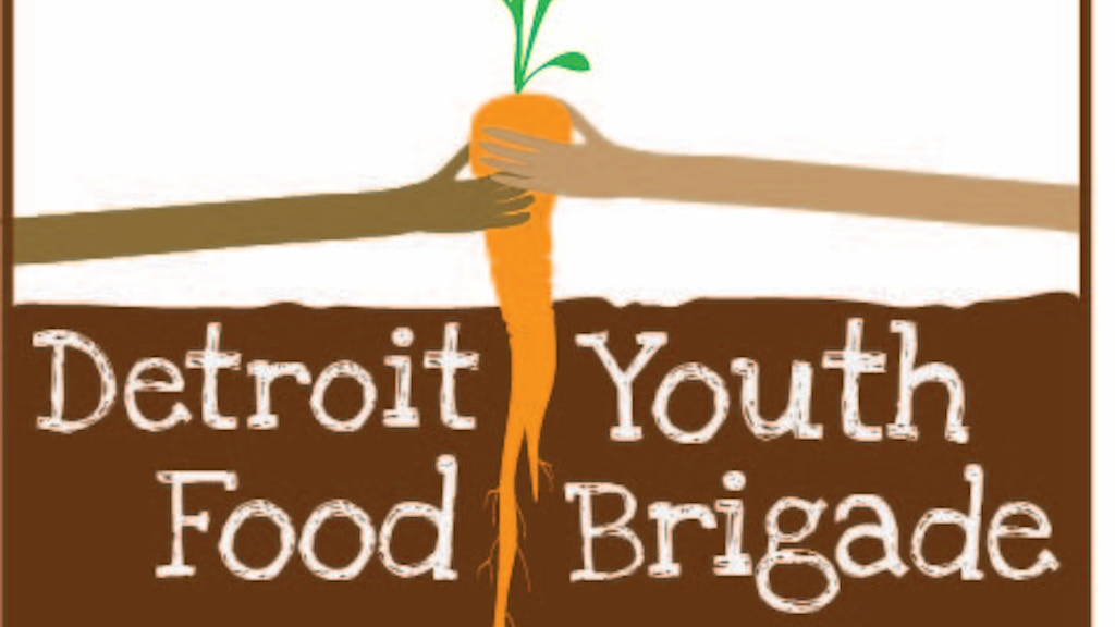 Detroit Youth Food Brigade: Summer 2012 project video thumbnail