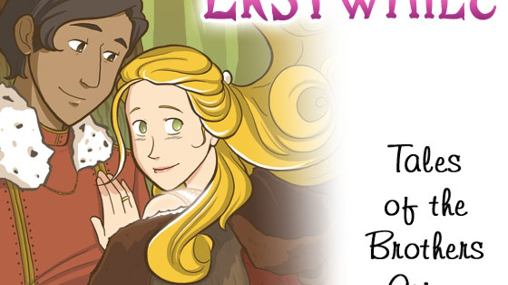 Erstwhile Fairy Tale graphic novel project video thumbnail