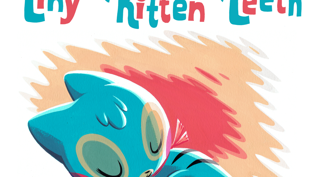 Tiny Kitten Teeth Deluxe Hardcover Book project video thumbnail