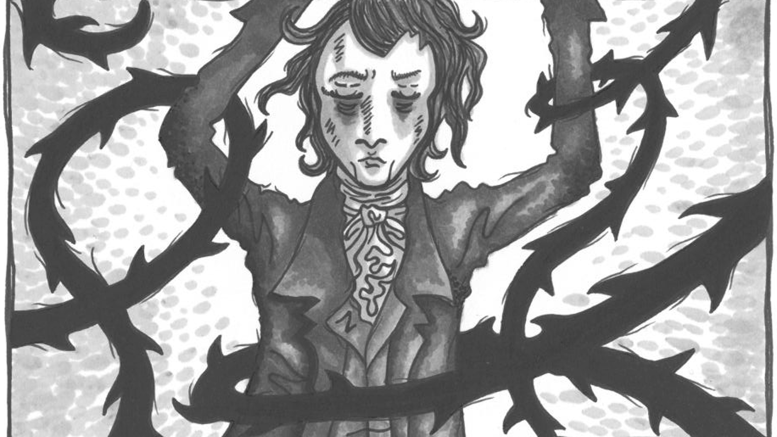 A graphic novel about the poet-painter William Blake and The Ghost of a Flea that is said to have haunted him.
