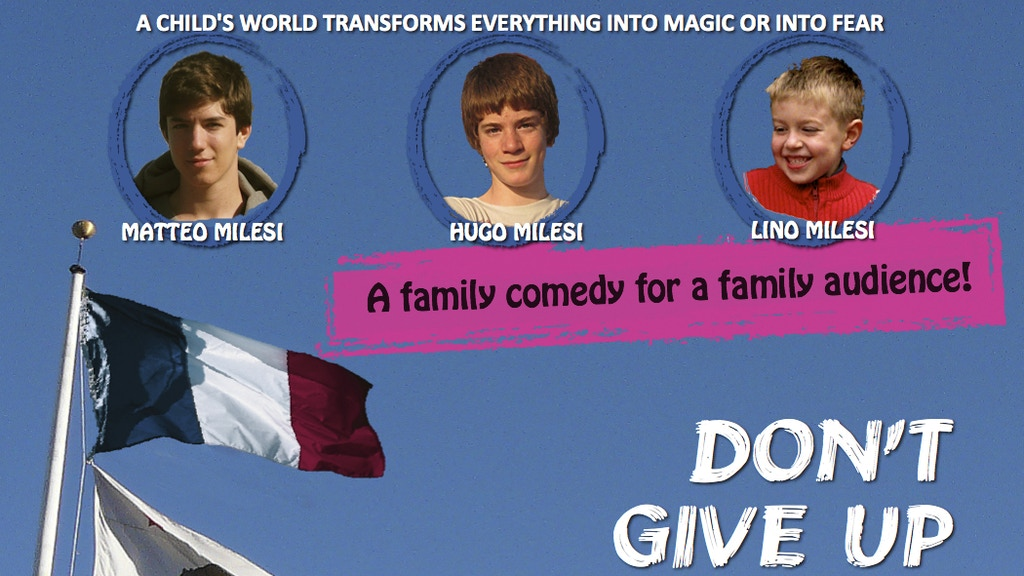 Don't give up the ghost (a Franco-American family comedy) project video thumbnail
