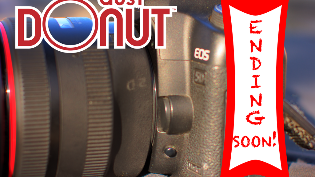 Dust Donut™ Add a weather seal to the mount of any DSLR Lens project video thumbnail