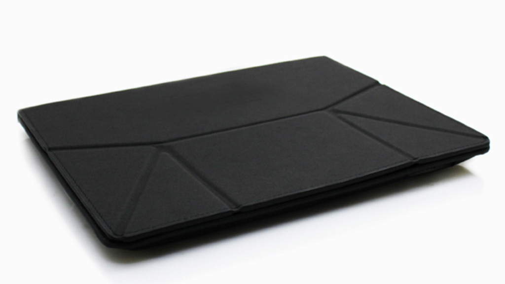 Slate&Stylus: Origami Slate case for the iPad project video thumbnail