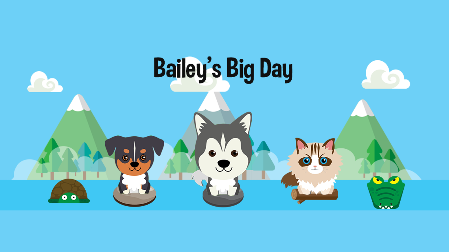 bailey s big day by mendie leelin kickstarter join bailey friends in this adorable dream adventure filled thrills excitement and fun