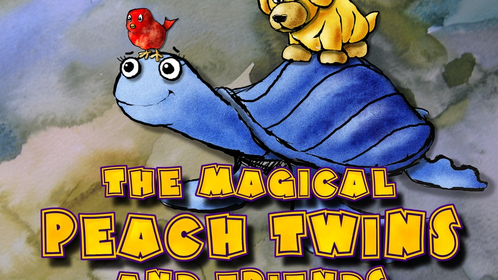 Peach Twins: The Empowering Lovable Children's Book project video thumbnail