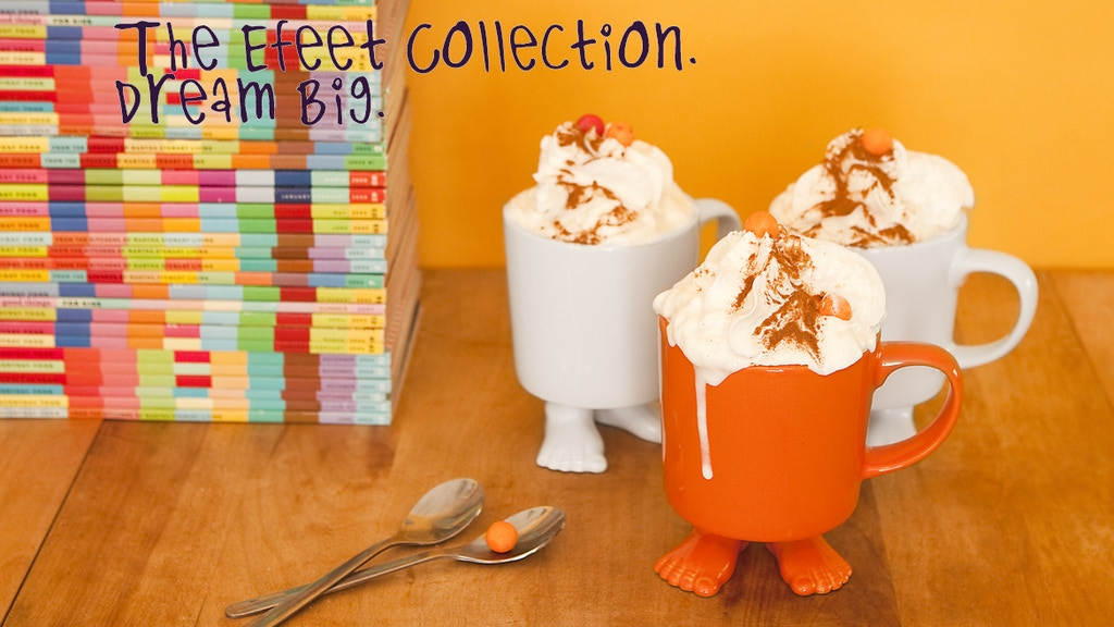 The Efeet Collection Standing Against Boring Dish Ware