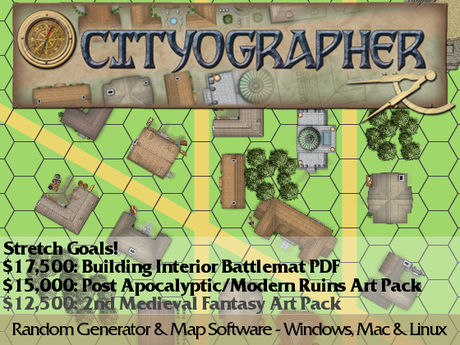 Cityographer city generator mapping software by inkwell ideas cityographer randomly generates a cityvillage in seconds creates the map residents gumiabroncs Gallery