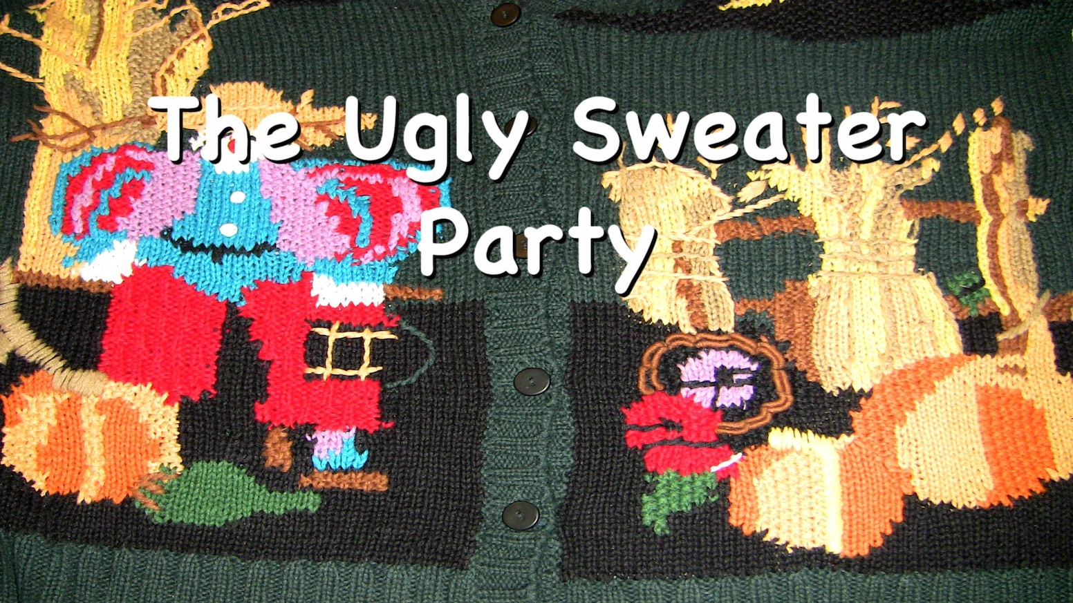wholesale dealer c8381 f2db7 The Ugly Sweater Party by Harris — Kickstarter