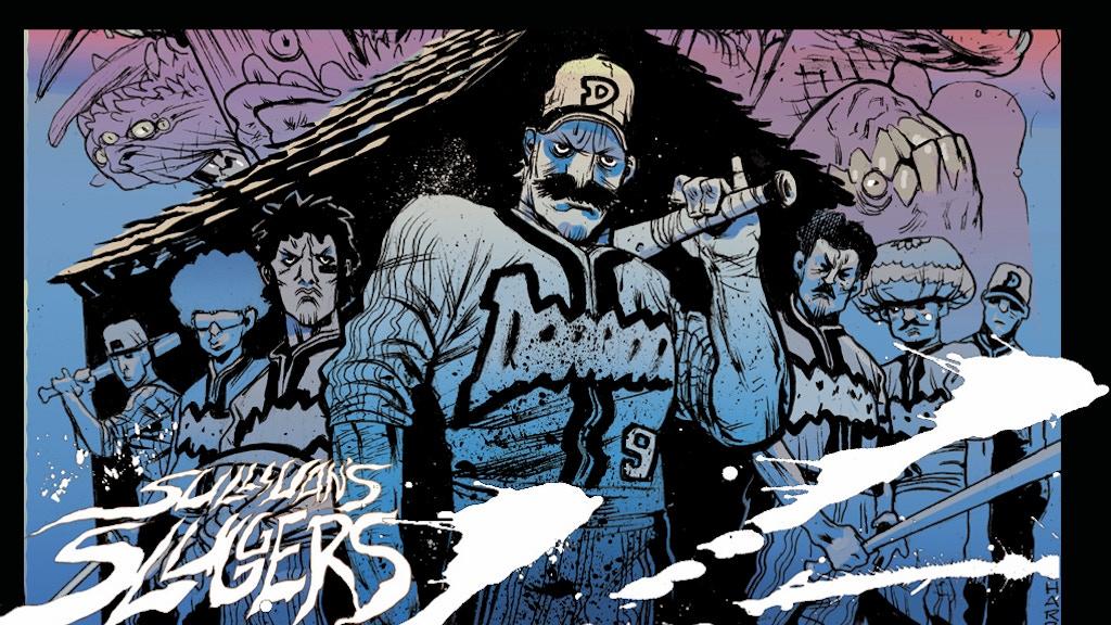 'Sullivan's Sluggers', Baseball Horror Graphic Novel project video thumbnail