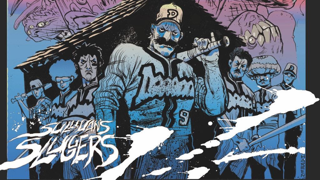 'Sullivan's Sluggers', Baseball Horror Graphic Novel project video thumbnail