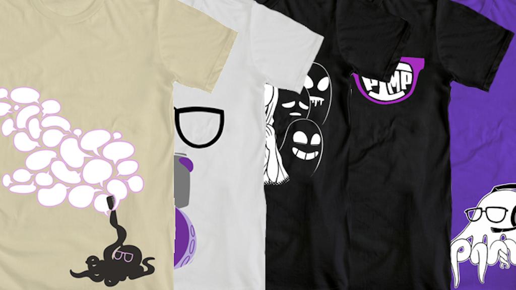 Octopimp Shirts! project video thumbnail