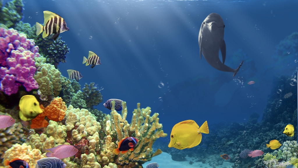 Project image for The Big Blue, an underwater adventure game