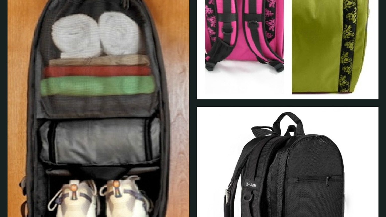 eeb69386e6 GLO BAG - Stay Organized at the Gym and on the go! The Ultimate gym locker  organizer ...