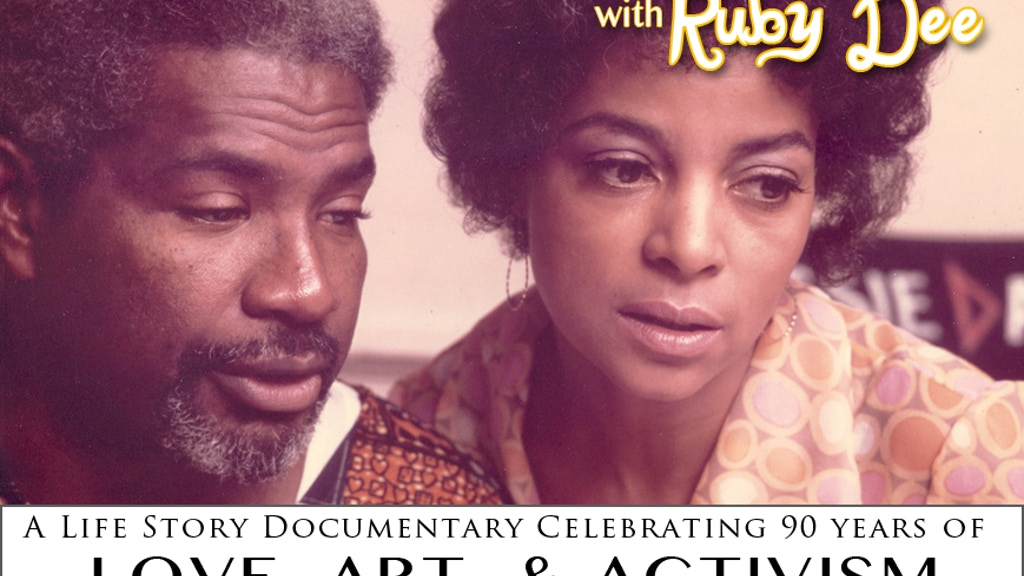 Ruby Dee & Ossie Davis Documentary project video thumbnail
