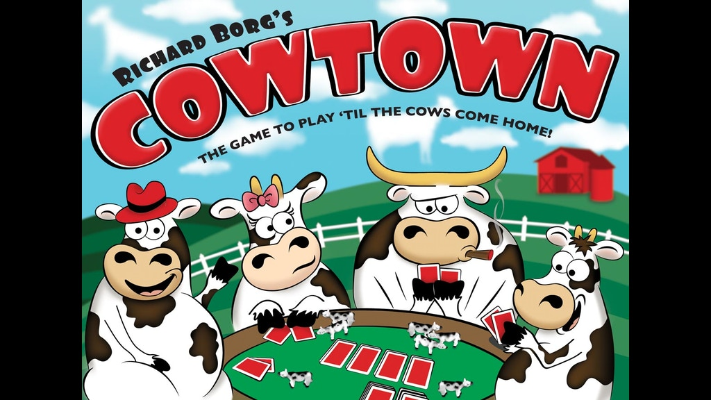 cowtown the game to play 39 til the cows come home by gryphon and eagle games kickstarter. Black Bedroom Furniture Sets. Home Design Ideas