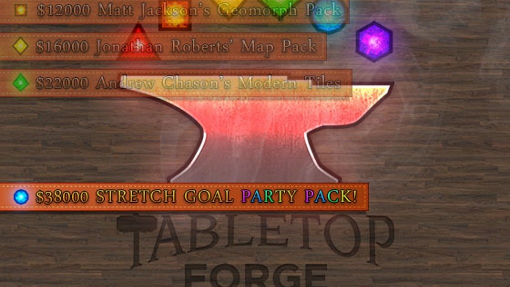 Tabletop Forge: The Virtual Tabletop for Google+ Hangouts project video thumbnail