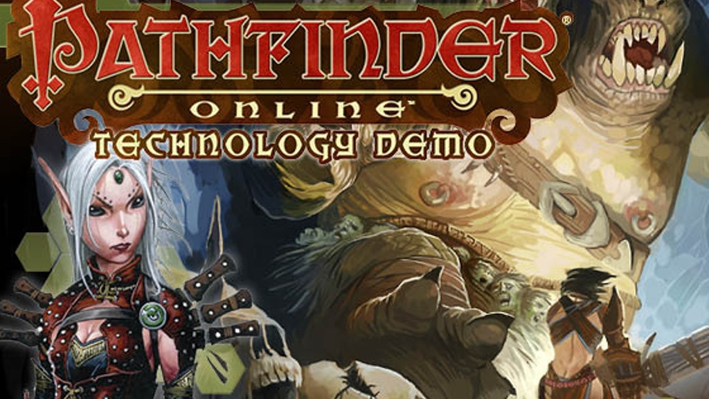 Pathfinder Online Technology Demo project video thumbnail