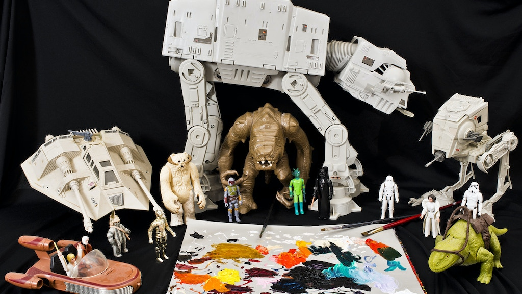 Epic Paintings of Star Wars Action Figures project video thumbnail