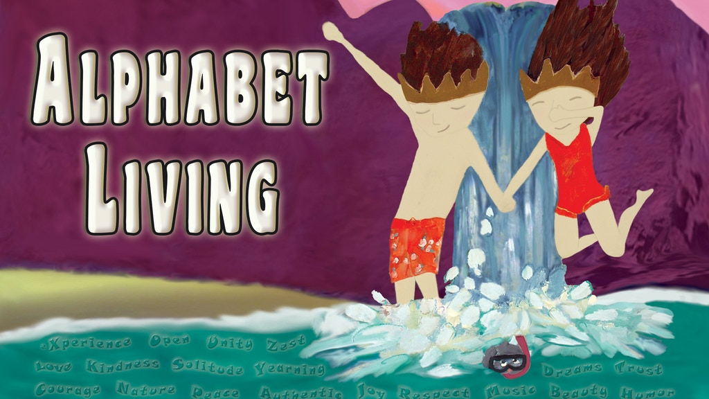 Alphabet Living: A book inspiring heart & meaning from A–Z ! by Dr