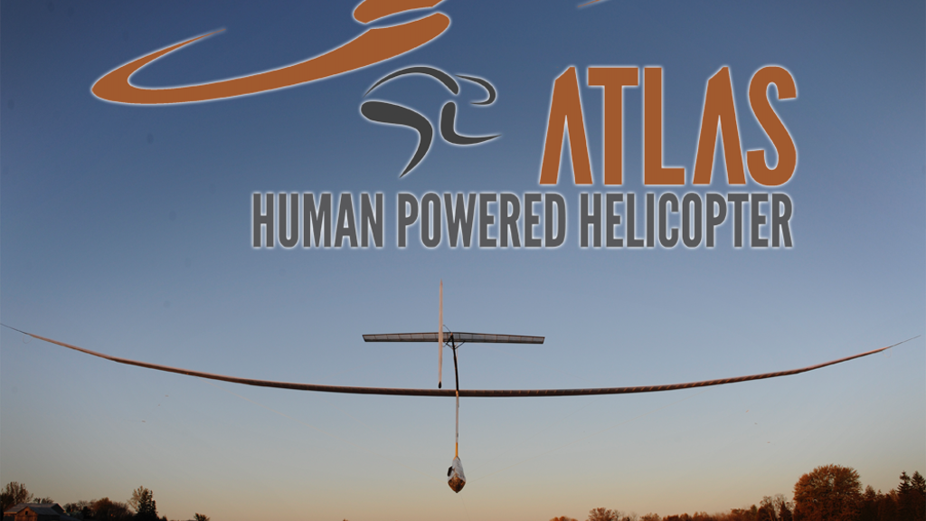 Atlas: A Human-Powered Helicopter for a Historical First! project video thumbnail