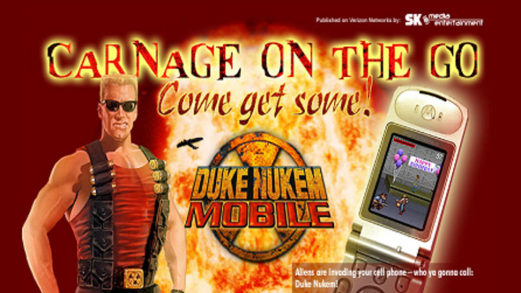 Project image for Bring Duke Nukem Mobile to iPhone and Android!