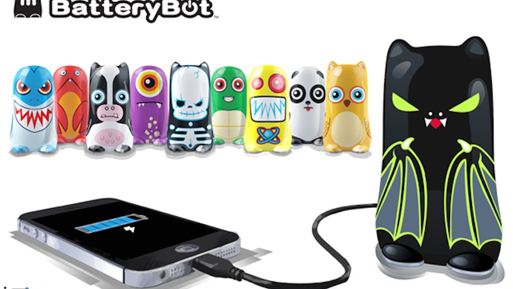 BatteryBot: The Fun Mobile Device Charger with Personality! project video thumbnail