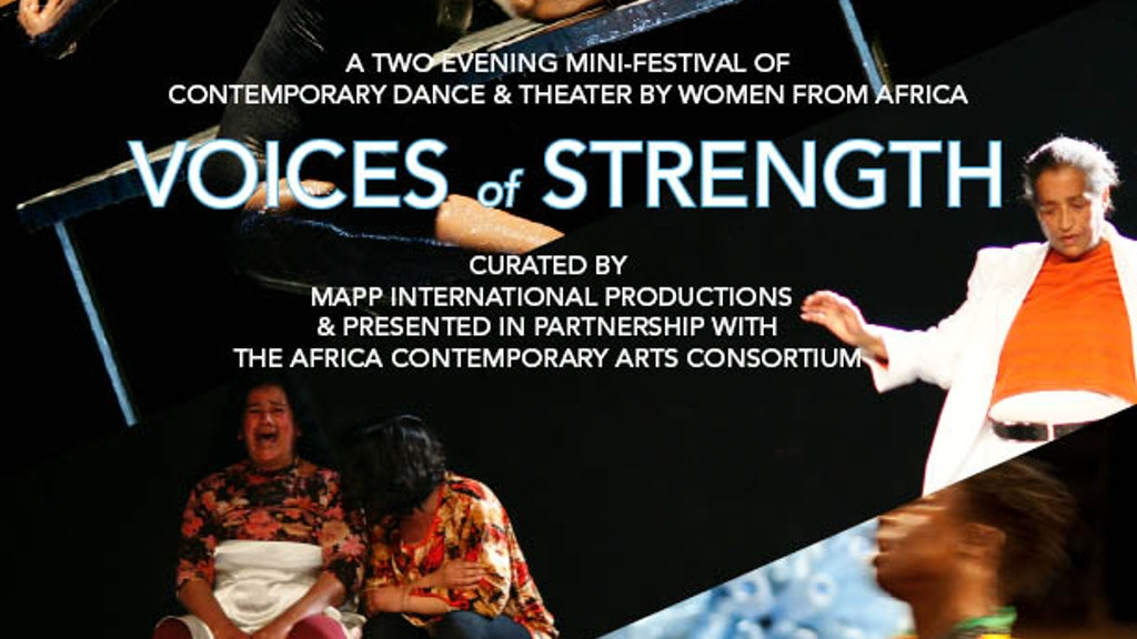 Voices of Strength U.S. Tour: 4 Works, 13 People, 6 cities project video thumbnail