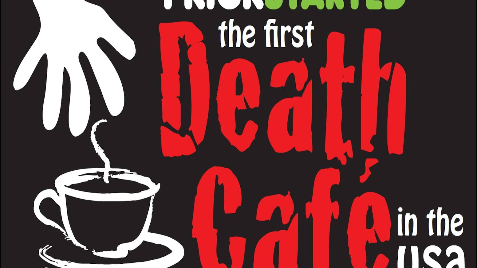 A Death Cafe is a pop-up event where people get together to talk about death and have tea and delicious food. Death Cafe has now evolved to a worldwide grassroots movement with 2800+ events in 33 countries. Visit deathcafe.com to find an event near you.