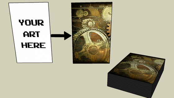 Your Art Card Sleeves Fully Customized By Kalan Vazquez Kickstarter