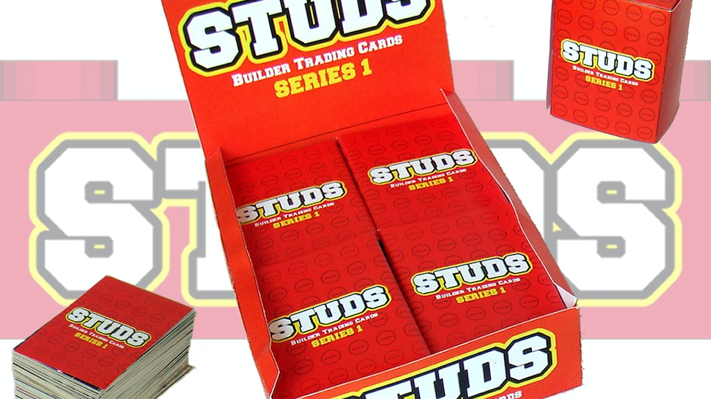 STUDS Collectible Trading Cards project video thumbnail