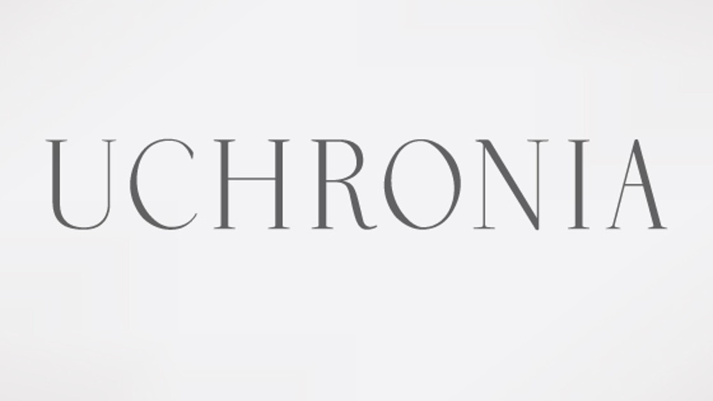 Uchronia Typeface project video thumbnail
