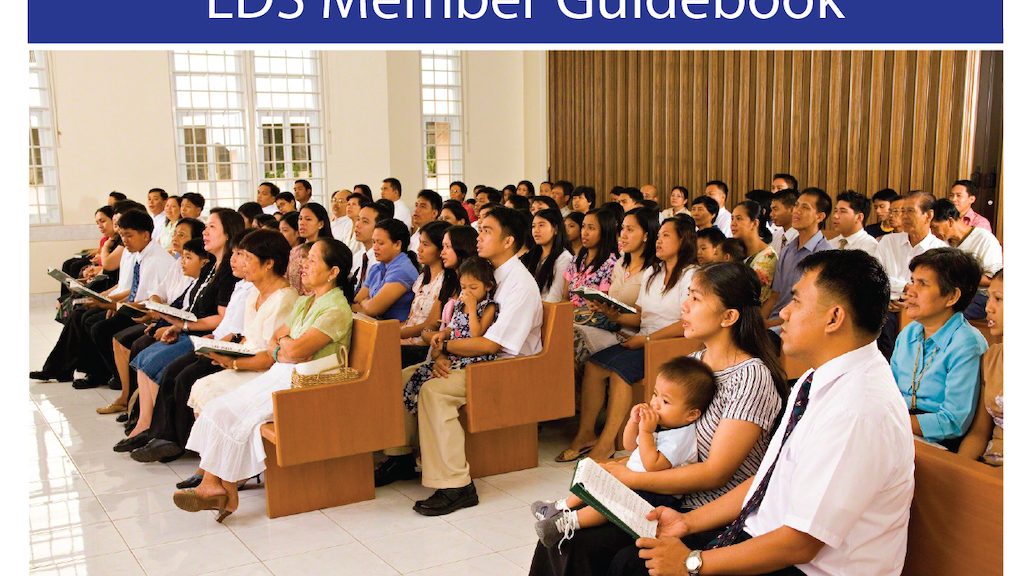 LDS Member Guidebook - Print and distribute 1,000 copies project video thumbnail