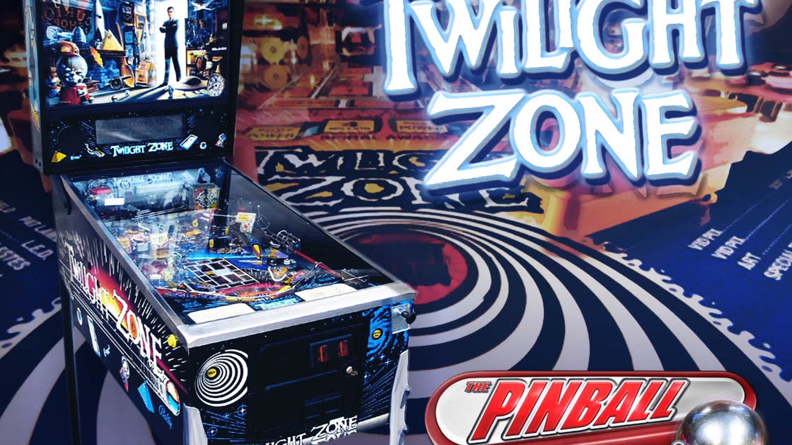 Help us bring The Twilight Zone pinball table to game consoles and mobile devices for a whole new generation to enjoy.