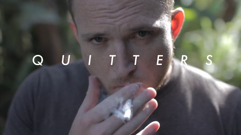 Quitters project video thumbnail