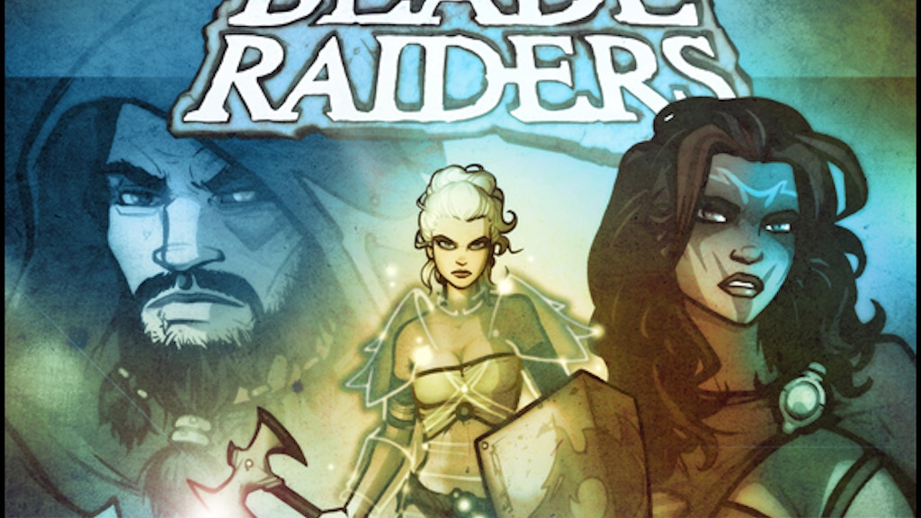 BLADE RAIDERS Fantasy Roleplaying Game project video thumbnail