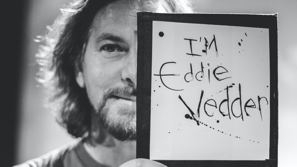 I Want To Take A Portrait Of Eddie Vedder - The Book! project video thumbnail