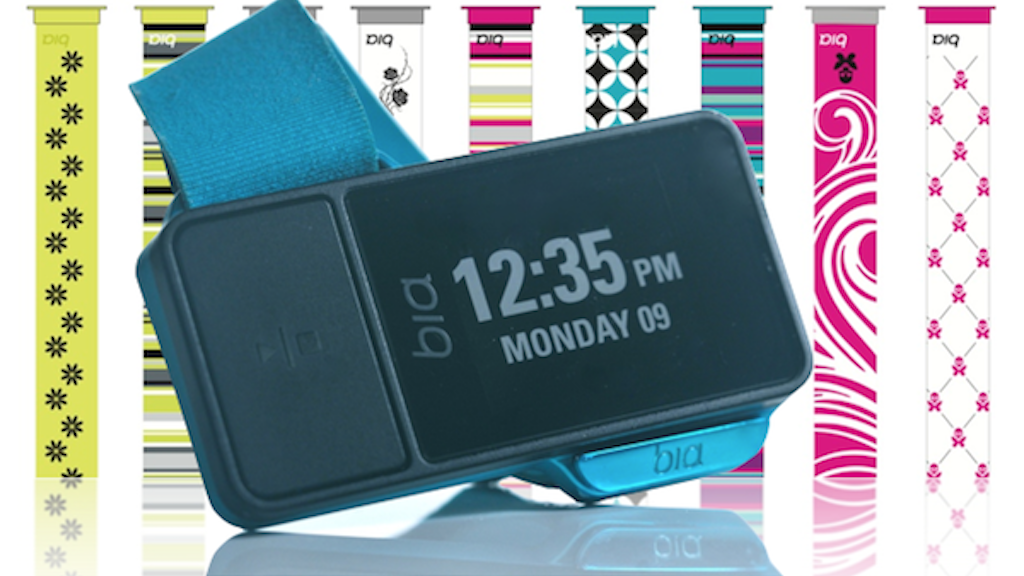 Bia: Multi-Sport GPS Sports Watch with SOS Safety Alert project video thumbnail