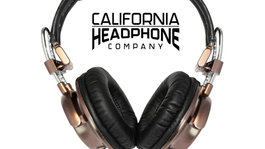 California Headphones - Premium Metal & Leather Design project video thumbnail