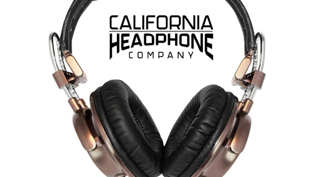 California Headphones - Premium Metal & Leather Design project video thumbnail